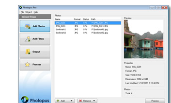 Photopus Batch Photo Editor